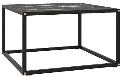 La table masse à effet marbre