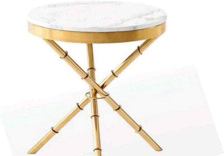 Table basse marbre vintage