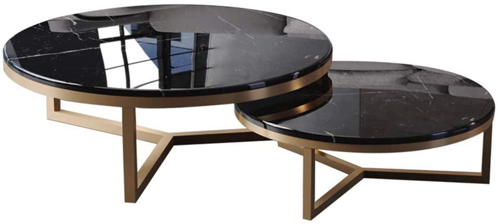 Table gigogne marbre : pratique, design et robuste