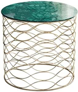 La table basse ronde en marbre