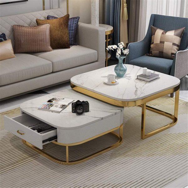 Critère de choix d'une table basse carrée en marbre