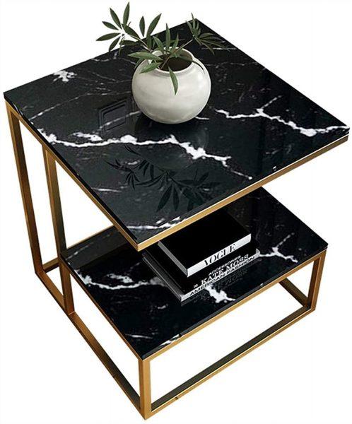 Décoration d'intérieur : Le marbre noir avec les autres pieces